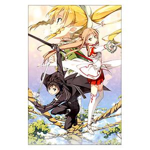 Sword Art Online. Размер: 20 х 30 см